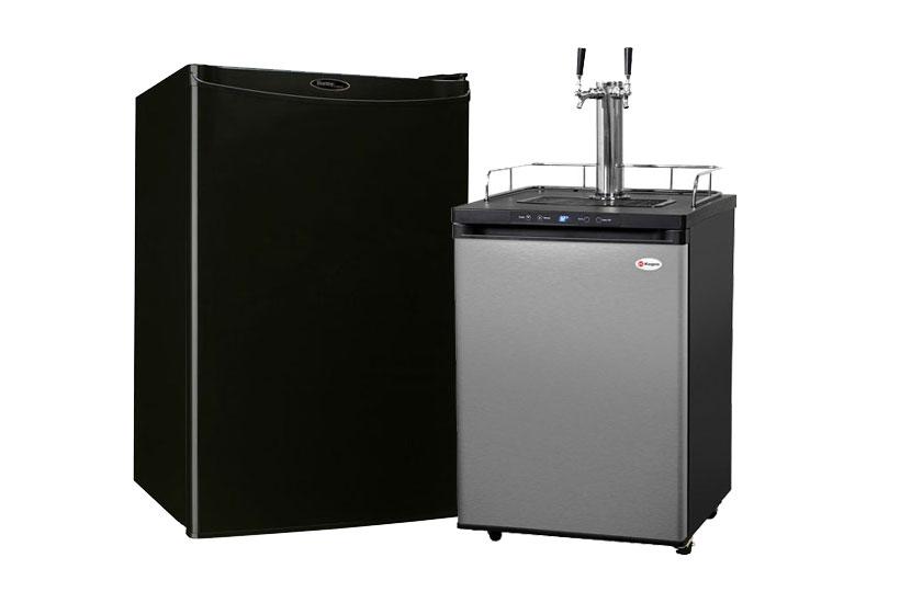 keg fridge - kegerators and compact refrigerators