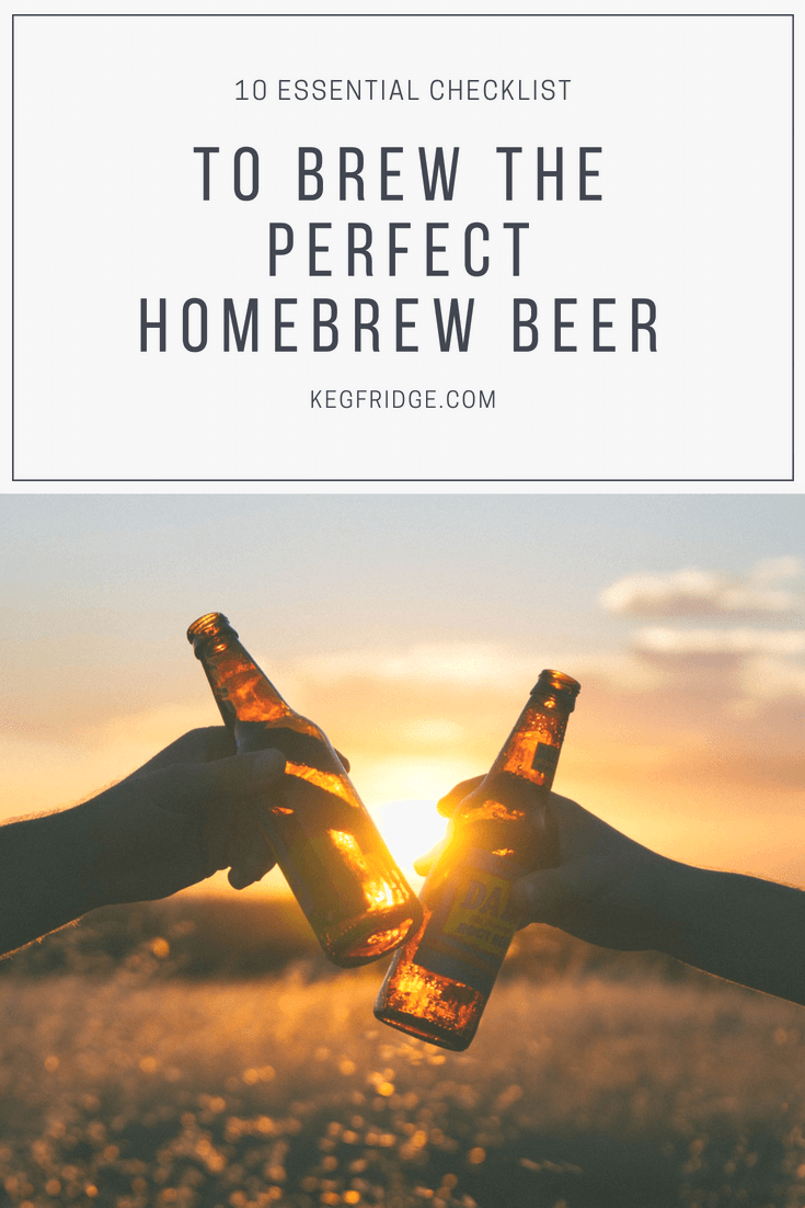 10 Essential Checklist to brew the perfect homebrew beer