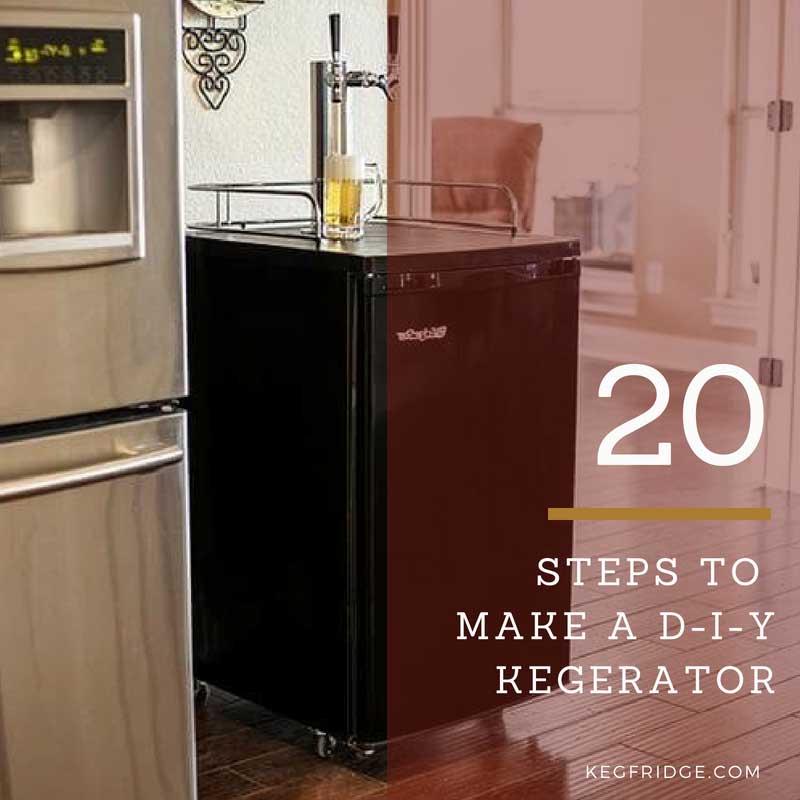 20 Steps to make a DIY Kegerator