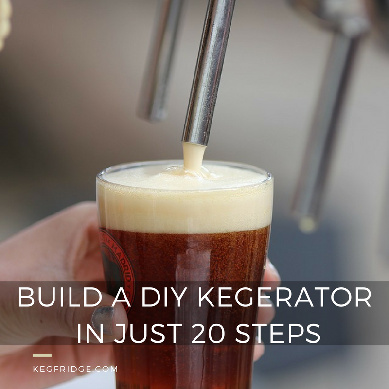 Home brewing tip : How to make a DIY Kegerator
