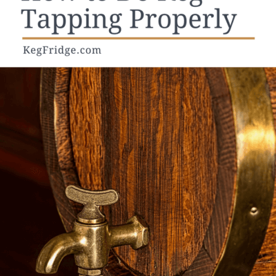 How to do keg tapping properly