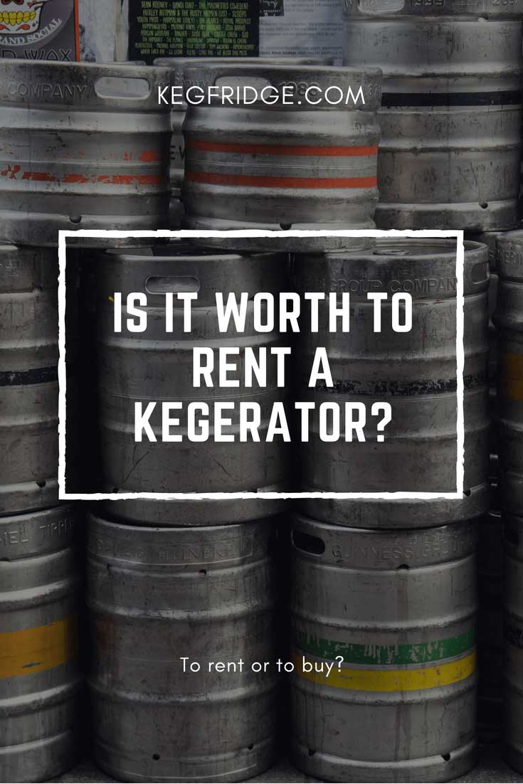 Kegfridge.com Is it worth to rent a kegerator