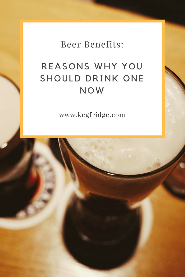 beer benefits reasons why you should drink beer now