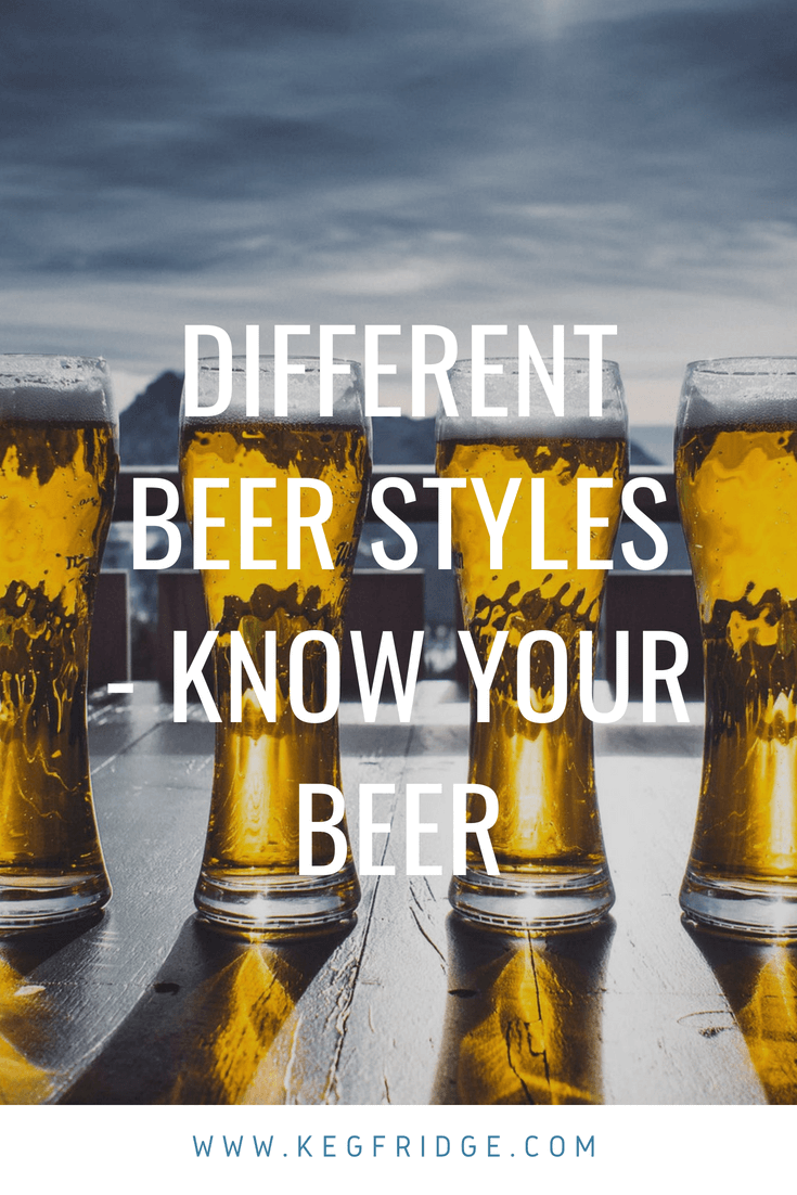 Different Beer Styles – Know Your Beer