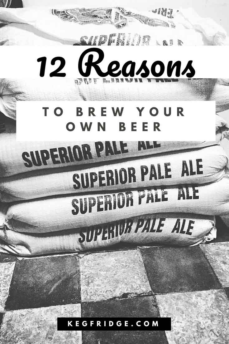 12 Reasons to brew your own beer
