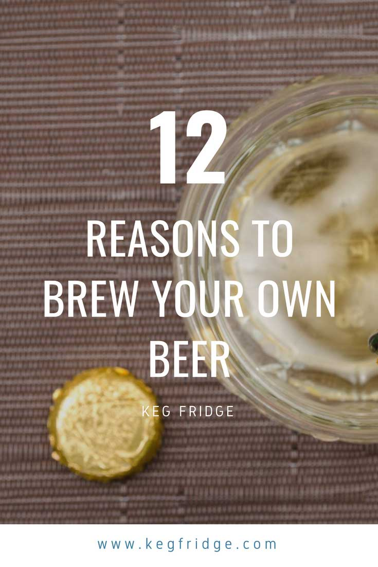 12 reasons to brew your own draft beer