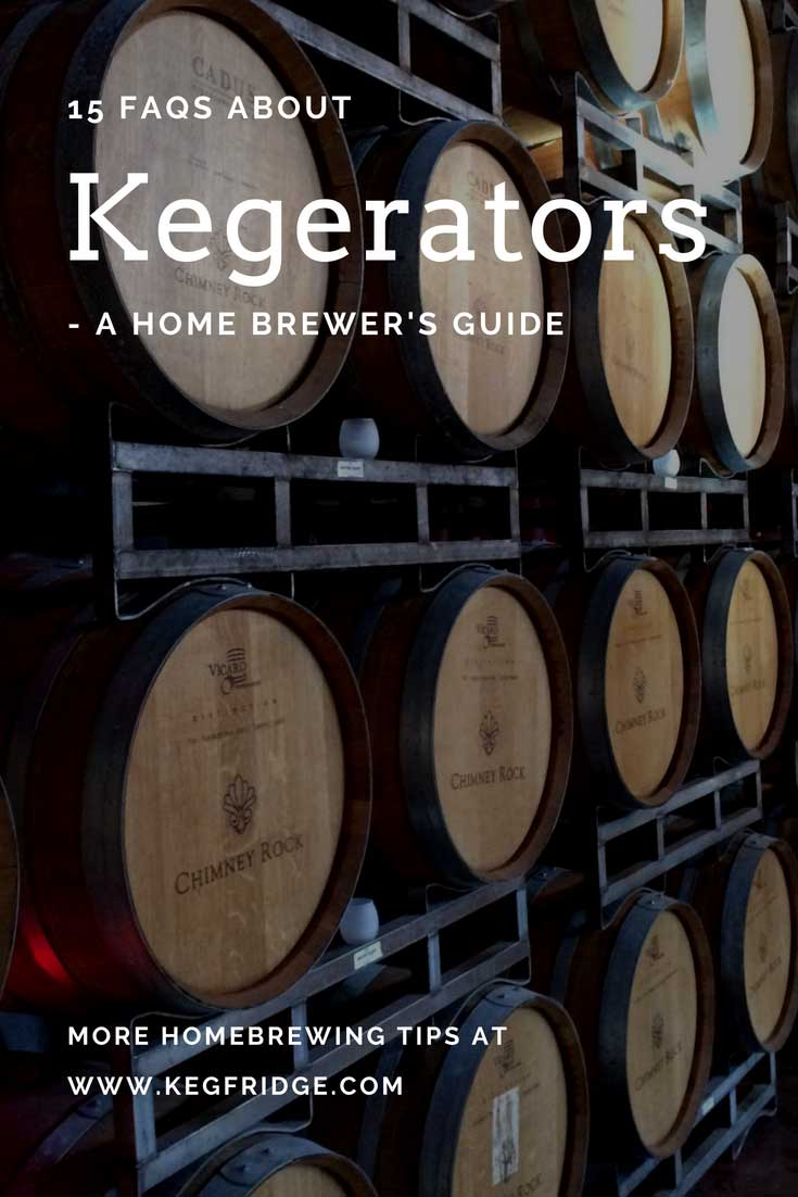 15 FAQS about kegerators