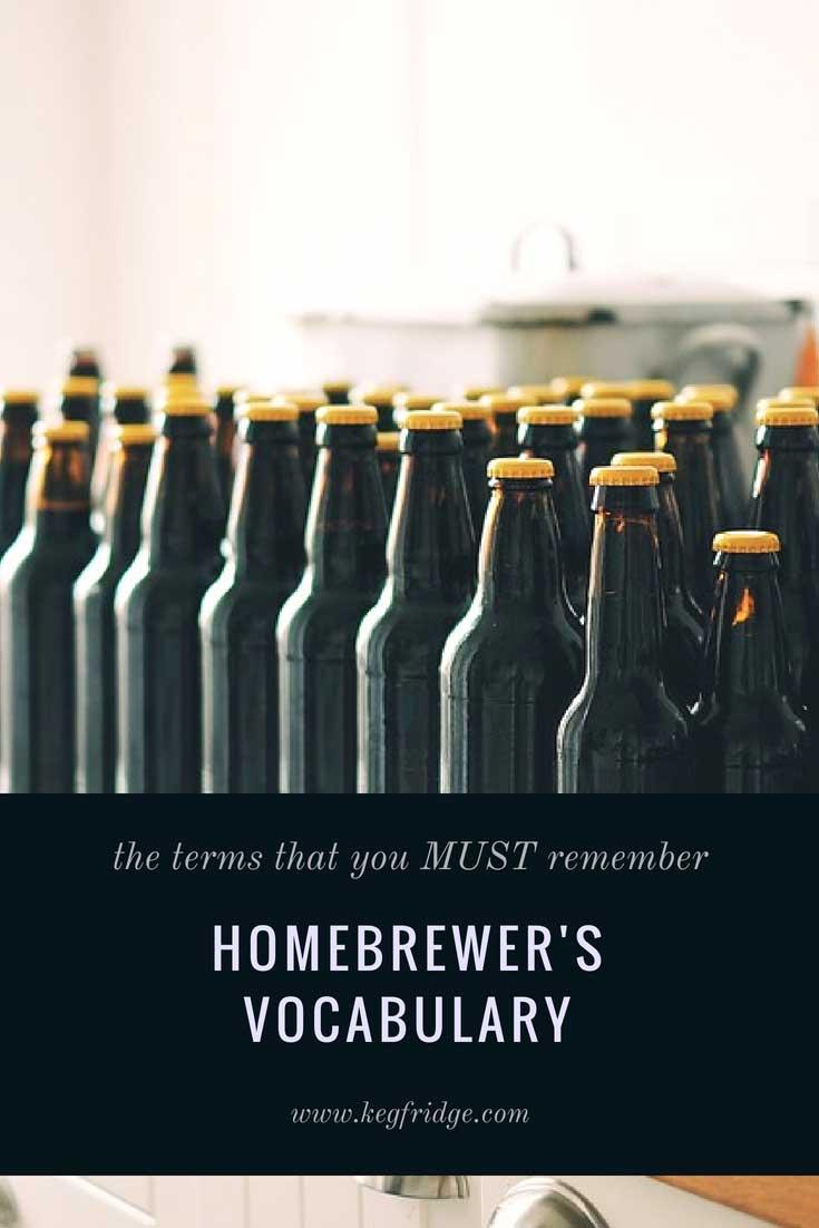 Homebrewer's Vocabulary - kegfridge.com