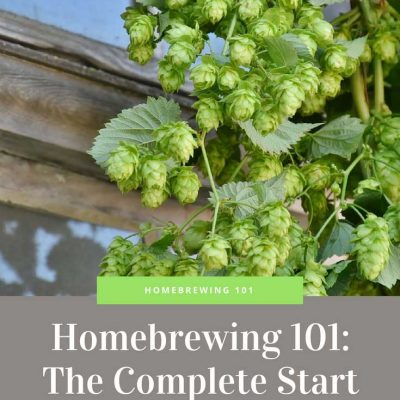 Homebrewing 101 - The Complete Start Guide