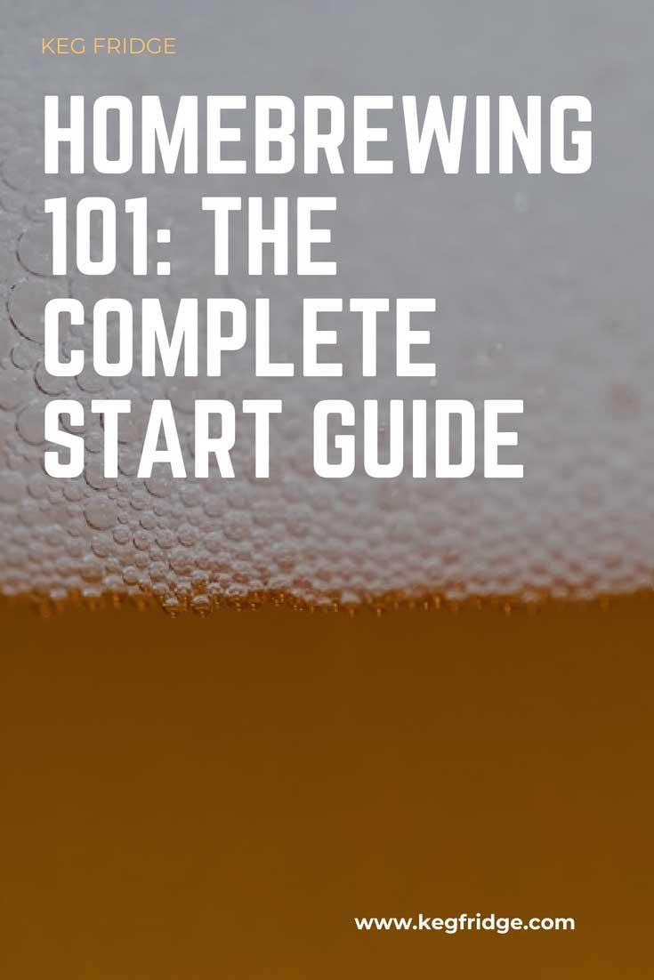 Homebrewing 101 - The Complete Start Guide - keg fridge