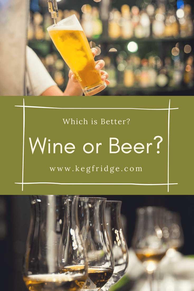 Wine or Beer kegfridge.com