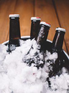 how to make non alcoholic beer - keg fridge