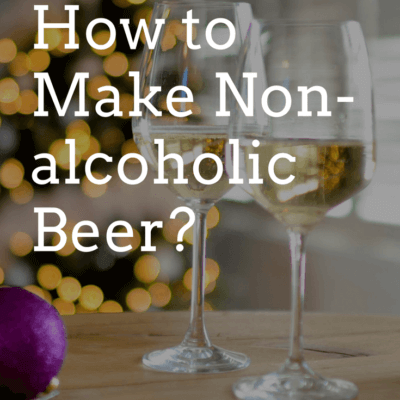 keg fridge - how to make non-alcoholic beer