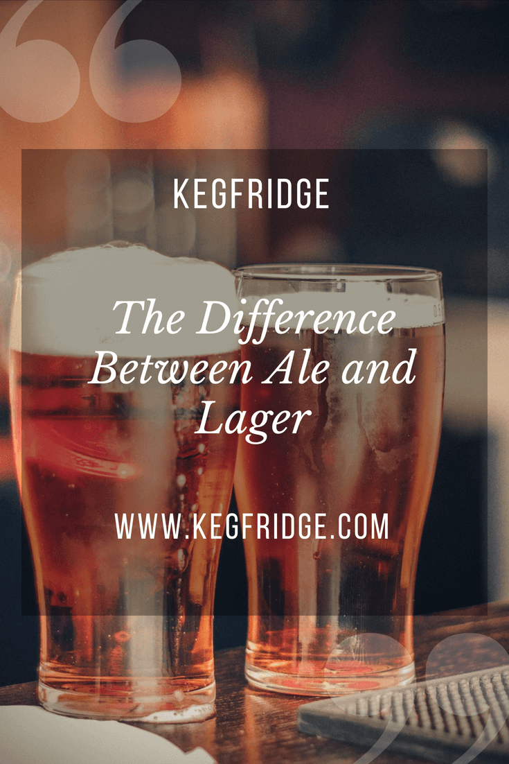 the difference between ale and lager