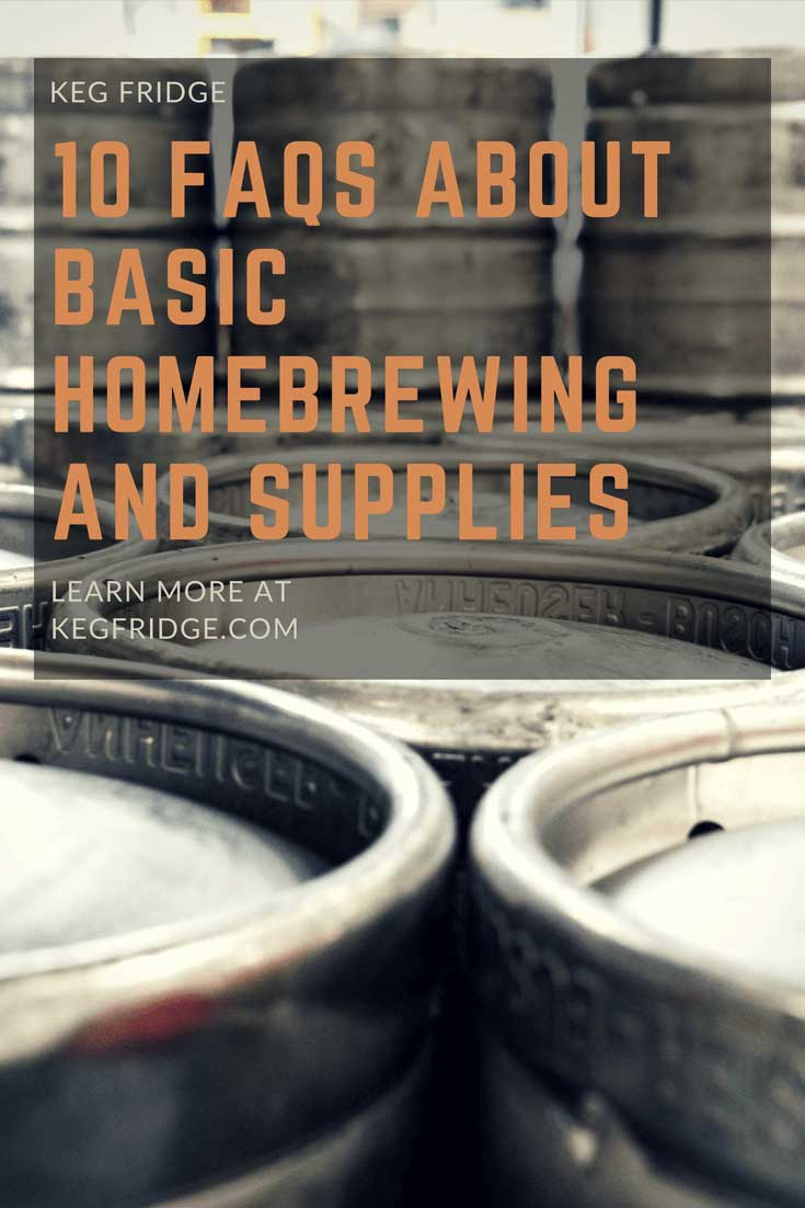 questions about basic homebrewing and supplies