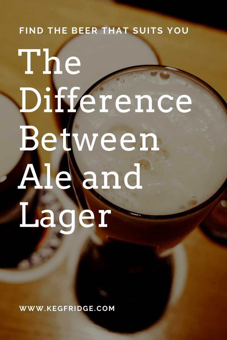 the difference between ale and lager www.kegfridge.com
