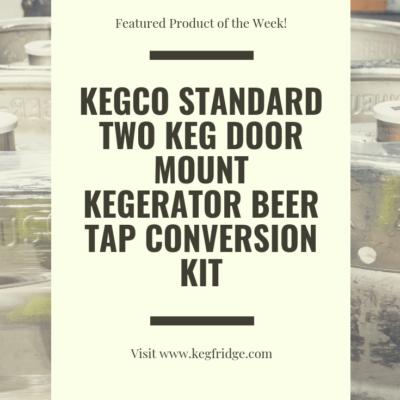 KegFridge -KEGCO STANDARD TWO KEG DOOR MOUNT KEGERATOR BEER TAP CONVERSION KIT